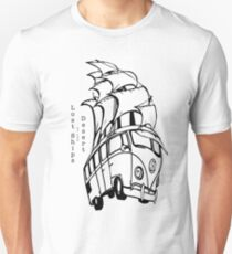 Lost Ships of the Desert Galleon Gear Unisex T-Shirt