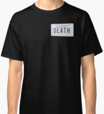 government plates - death grips Classic T-Shirt