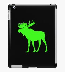 Moose: Bright Green iPad Case/Skin