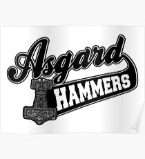 Asgard Hammer Poster