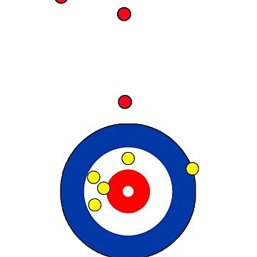 The 5 Point Shot - Curling Rockers by bubgum