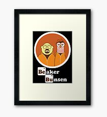 Beaker Bunsen Breaking Bad Framed Print