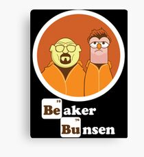 Beaker Bunsen Breaking Bad Canvas Print