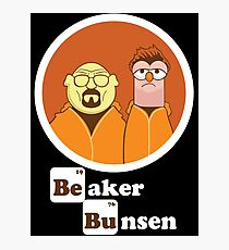 Beaker Bunsen Breaking Bad Photographic Print