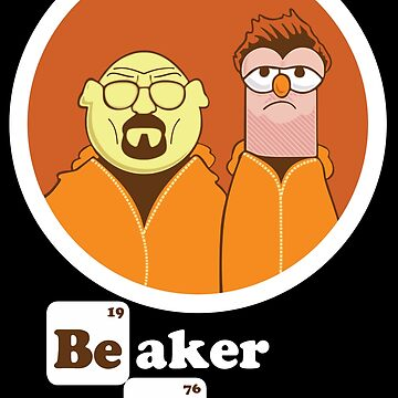 Beaker Bunsen Breaking Bad by biiggieone