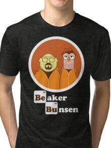 Beaker Bunsen Breaking Bad Tri-blend T-Shirt