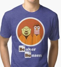Beaker Bunsen Breaking Bad Tri-blend T-Shirt