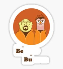 Beaker Bunsen Breaking Bad Sticker