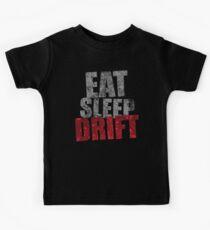 Camiseta para niños Eat Sleep Drift