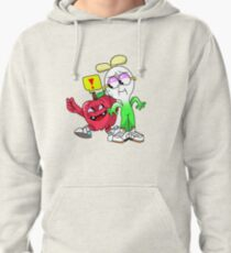 Apple and Onion Cartoon Network Pullover Hoodie