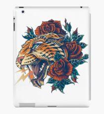 Vinilo o funda para iPad Leopard adornado (Versión en color)
