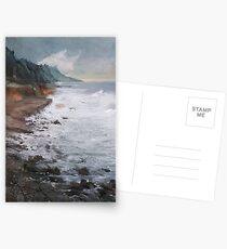 rough beach Postcards
