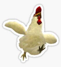 Super Smash Chicken Sticker