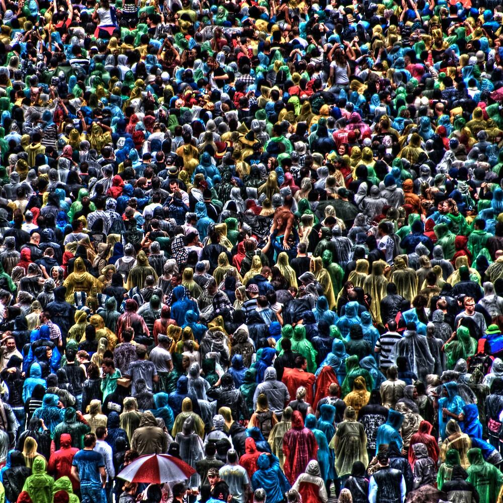 All of my people - The Raincoat Brigade by Alexander Kesselaar