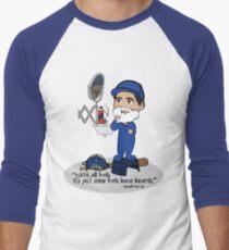 Kids with Beards Men's Baseball ¾ T-Shirt