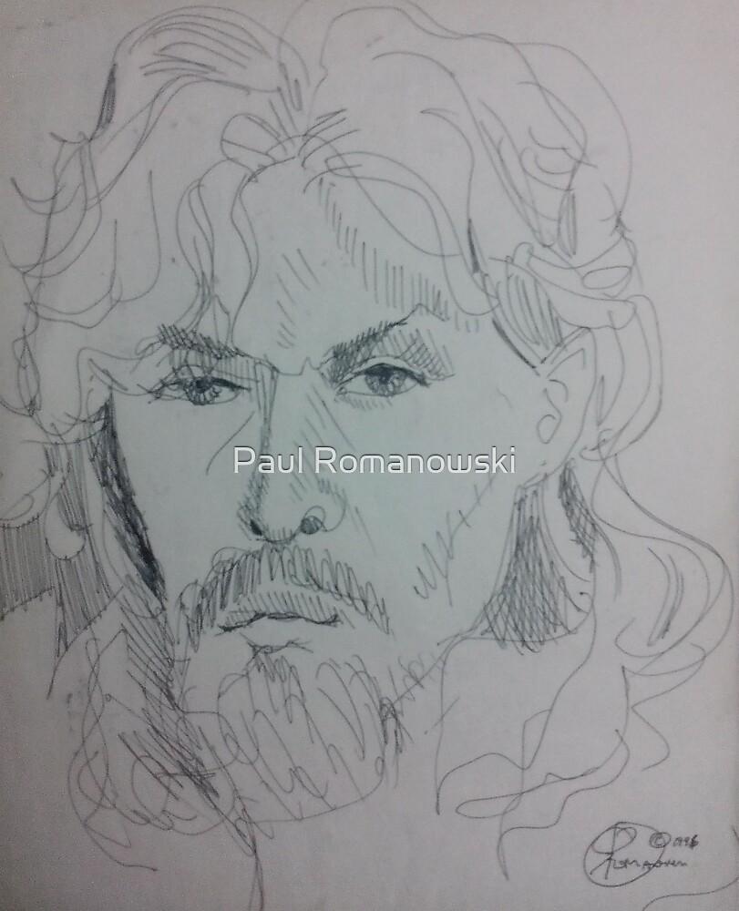 SELF INK PEN DRAWING(C1996) by Paul Romanowski