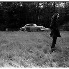 Roadside in Vermont 1969 by Lionel Douglas