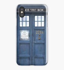 221b is Bigger on the Inside iPhone Case
