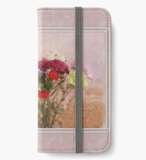 Bouquet in a Window ~ Painting Style iPhone Wallet/Case/Skin