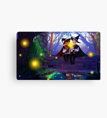 In the Forest ( Drarry) Canvas Print