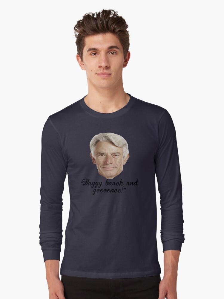 Buck Martinez Long Sleeve T-Shirt Front