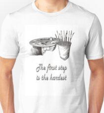 Art Plate Painters sketch Unisex T-Shirt