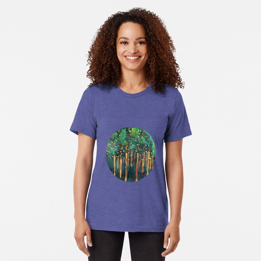 Lollipop Trees Tri-blend T-Shirt