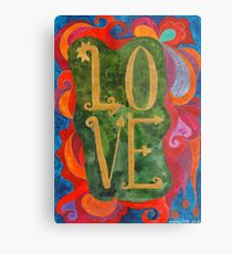 Love, Too Metal Print