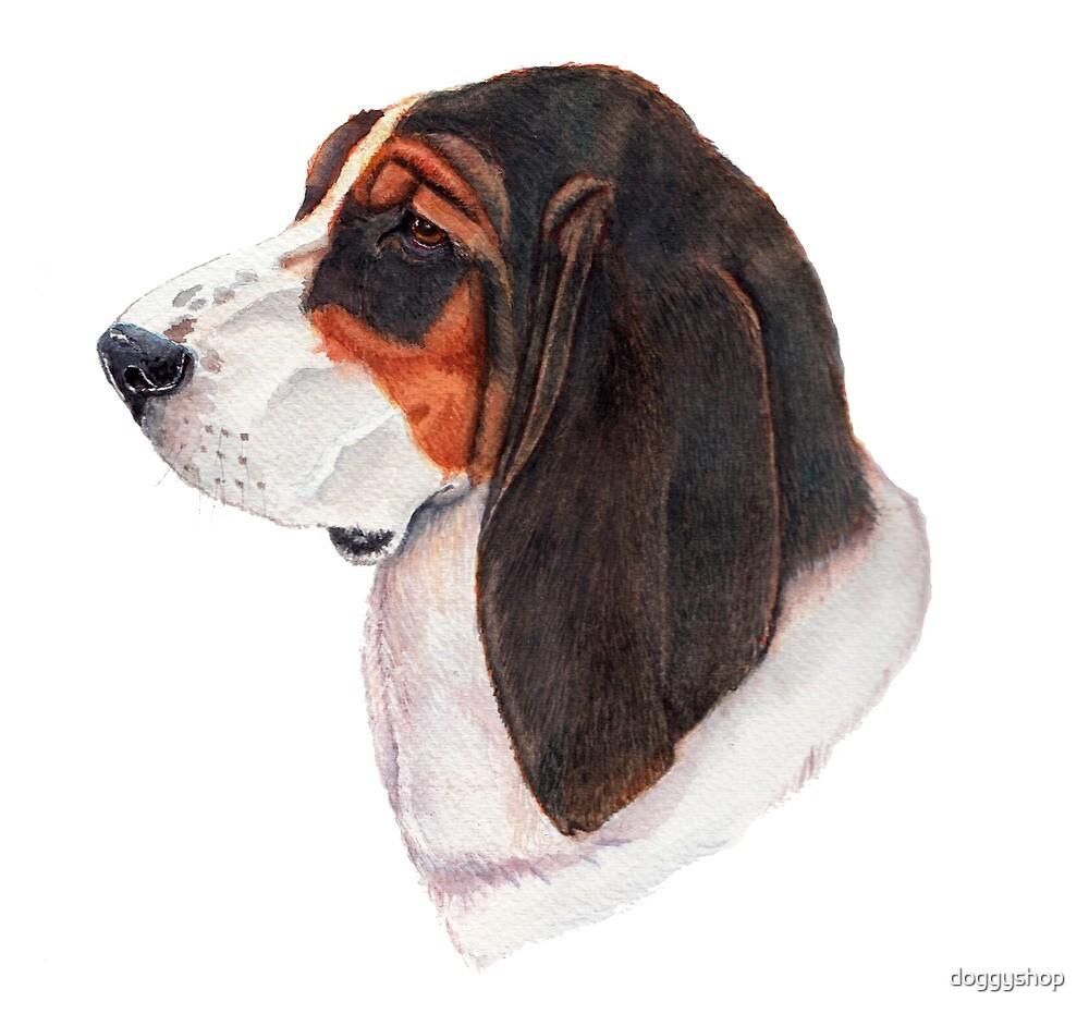 Basset hound - color by doggyshop