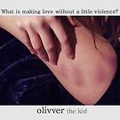 olivver keep it sacred by Allibear87