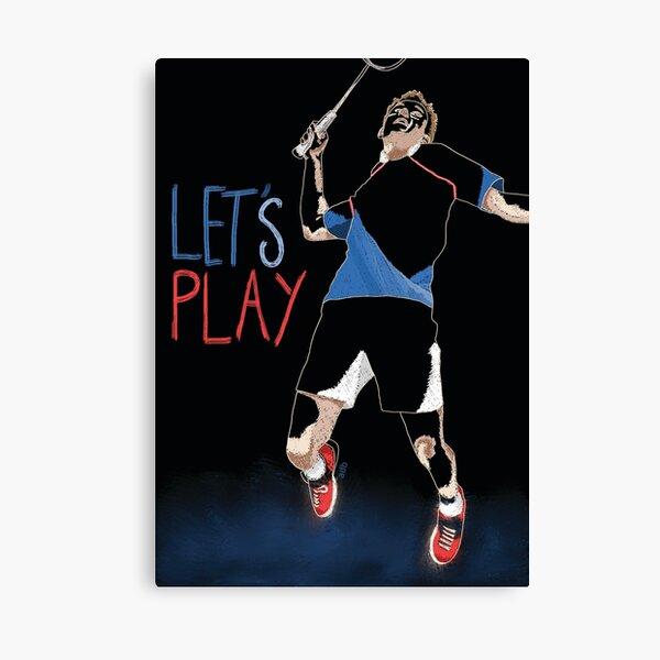 Badminton Impression sur toile
