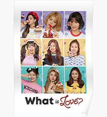 TWICE - GROUP #WhatIsLOVE Poster