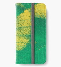 Green Leaf Spring Pattern iPhone Wallet/Case/Skin