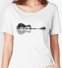 Guitare Nature T-shirt coupe relax