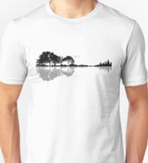 Natur Gitarre Slim Fit T-Shirt