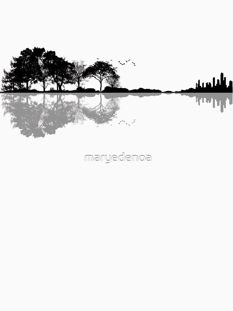 Natur Gitarre von maryedenoa