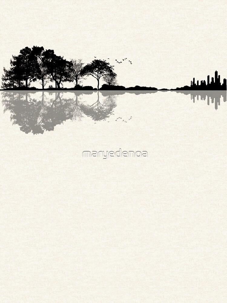 Nature Guitar by maryedenoa
