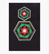 Geometric design. Photographic Print