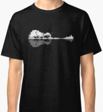 Camiseta clásica Naturaleza Guitarra