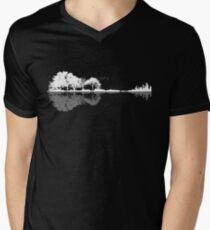 Nature Guitar  Men's V-Neck T-Shirt