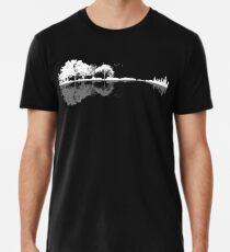 Natur Gitarre Männer Premium T-Shirts