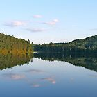 Summer Evening on a Mountain Lake by Ryan McGurl