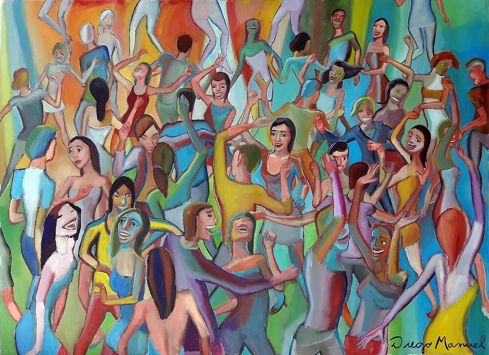 The dance 7 by Diego Manuel Rodriguez
