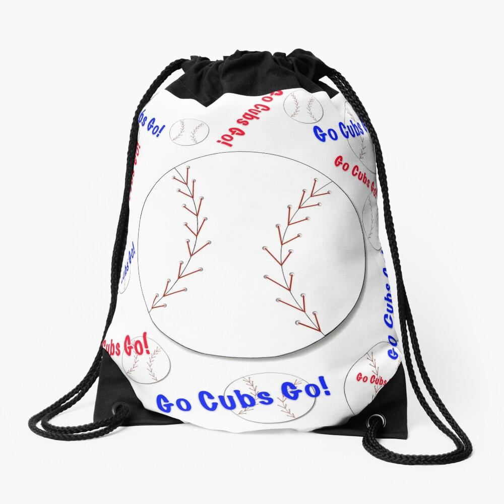 Go Cubs gehen! Baseball Turnbeutel