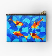 Joy Fish -Abstract painting Studio Pouch