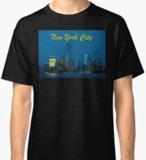 Stunning! New York City Lower Manhattan Skyline - Professional Photo Classic T-Shirt
