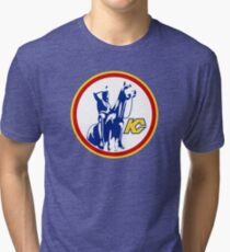KANSAS CITY SCOUTS HOCKEY RETRO Tri-blend T-Shirt