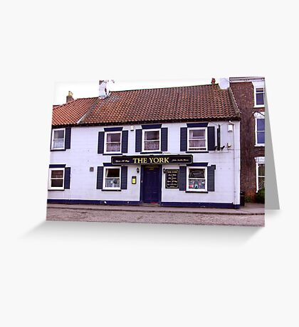 The York - Easingwold North Yorkshire Greeting Card