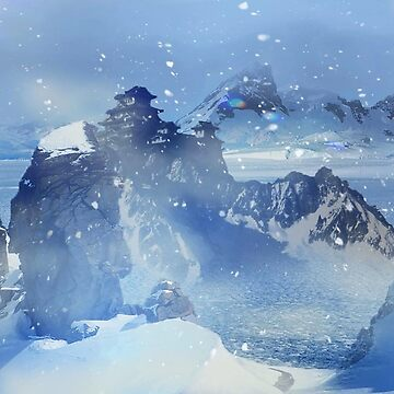 Snowy mountains by Chris038