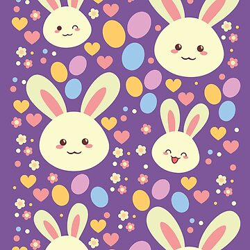 Kawaii Bunny by AnishaCreations